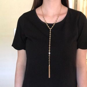 Long Gold Necklace NWOT